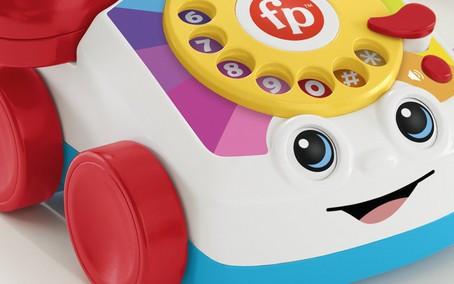 Brinquedo icônico da Fisher-Price ganha edição capaz de realizar chamadas de voz