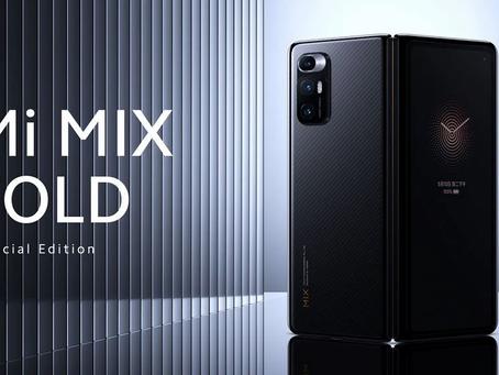 Xiaomi Mi Mix Fold: o primeiro aparelho dobrável da Xiaomi é apresentado