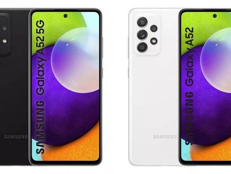 Samsung Galaxy A52 terá recursos de top de linha segundo informações vazadas