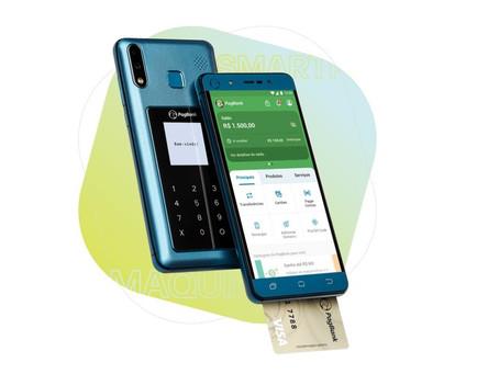 PagPhone: O smartphone da PagSeguro que funciona como maquina de cartão e banco digital.