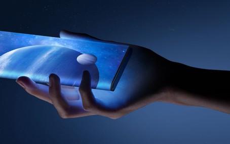 Lenovo patenteia celular com tela super curva que escorre pelas laterais