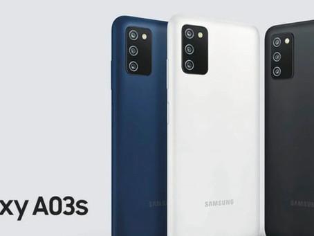 Samsung Galaxy A03s é anunciado no Brasil, com Helio P35, três câmeras e mais