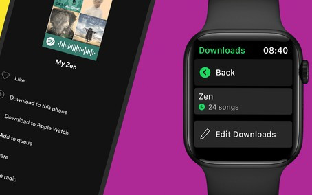 Spotify agora permite baixar suas musicas para ouvir offline no Apple Watch
