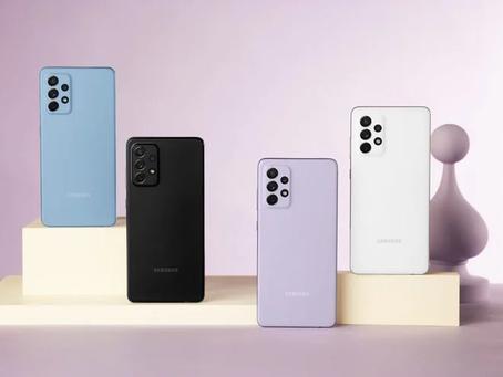 Samsung lança A52, A52 5G, A72 e A32 no Brasil