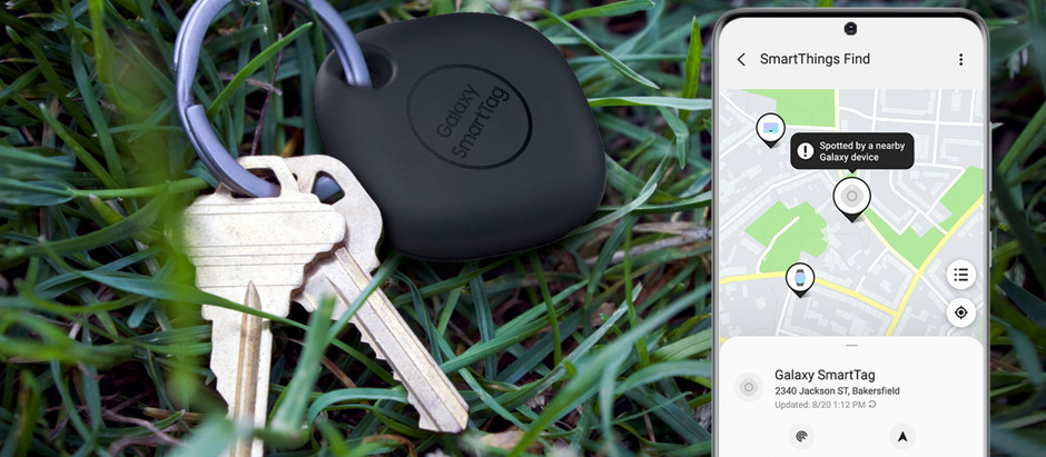 "Samsung anuncia o seu ""chaveiro"" smart, o Galaxy Smart Tag"