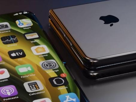 Apple está realizando testes de 2 celulares dobráveis