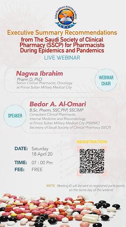 Webinar announcement - Dr. Bedor Alomari