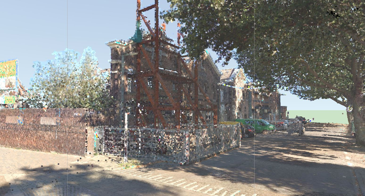 3d pointcloud met foto
