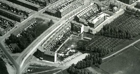 Voor de bouw in 1932
