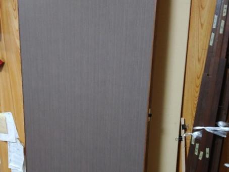 広島 向洋 木目調 襖の張替