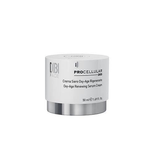 Oxy-age regenerating* cream serum 50ml