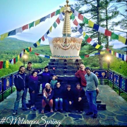 May 2015 Work Day Group at Stupa