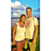 Glenn and Denise, owners of Mango Tree Cottage