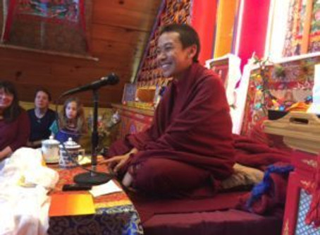 A visit from Cherok Lama