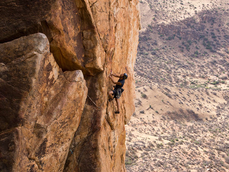 Useful things to know. About climbing in the Jebel El Kest