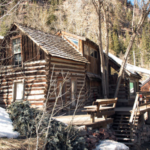 Old Cabin Wild West Style