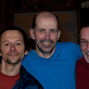 Three climbing fools