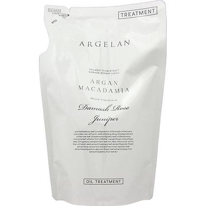 ARGELAN 賦活滋養植萃無矽靈潤髮乳 補充包 400ml