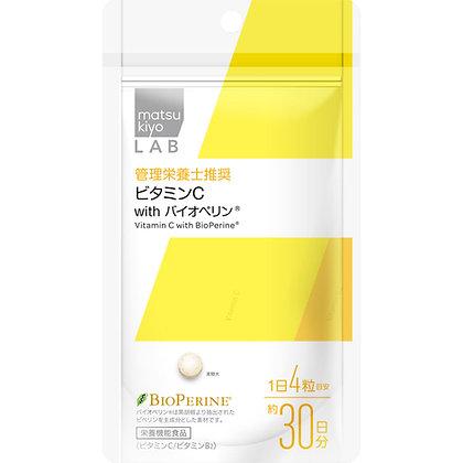 MK LAB 維生素C錠含胡椒鹼 120錠
