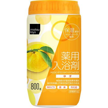 MK 溫和暖身舒緩入浴劑 清新柚子香 800g