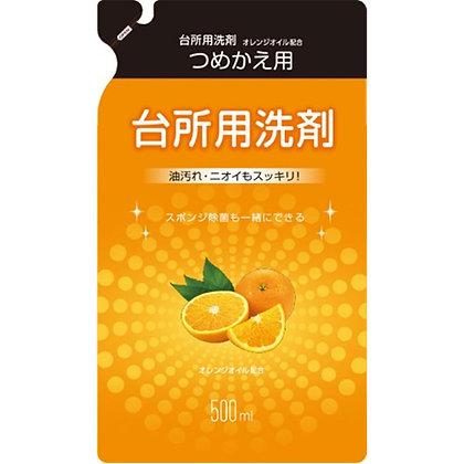 MK 廚房用清潔劑 柑橘香 補充包 500ml