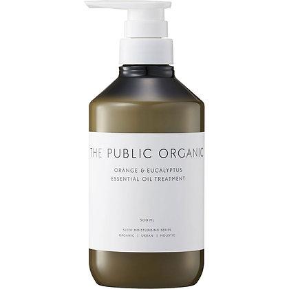 THE PUBLIC ORGANIC 絲滑潤澤潤髮乳 柑橘尤加利 500ml