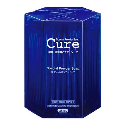 Cure 酵素白泥保濕潔顏粉 35包入