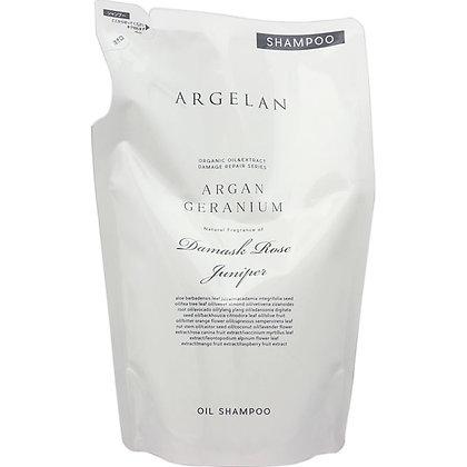 ARGELAN 賦活滋養植萃無矽靈洗髮精 補充包 400ml
