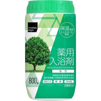MK 溫和暖身舒緩入浴劑 寧靜森林香 800g
