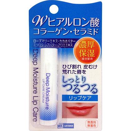 MK 玻尿酸濃厚保濕潤唇膏 無色無香 5g