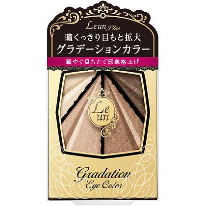Leun Plus 完美漸層眼影彩盤 #01金耀暖棕 3.4g