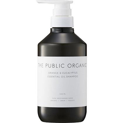 THE PUBLIC ORGANIC 絲滑潤澤洗髮露 柑橘尤加利 500ml