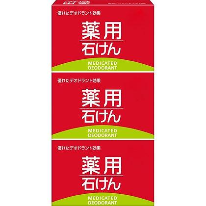 MK 熊野油脂 抑菌舒緩護膚皂100g 3個入