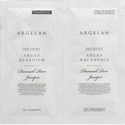 ARGELAN 賦活滋養植萃無矽靈 洗潤體驗裝 10+10ml