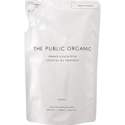 THE PUBLIC ORGANIC 絲滑潤澤潤髮乳 柑橘&尤加利 補充包 400ml