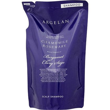 ARGELAN 平衡保濕植萃無矽靈洗髮精 補充包 400ml