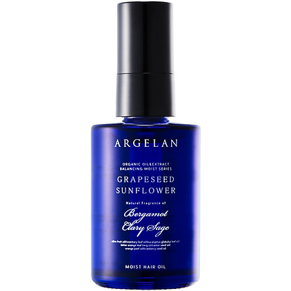 ARGELAN 平衡保濕植萃無矽靈修護髮油 60ml