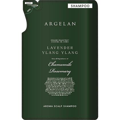 ARGELAN 香氛植萃無矽靈柔順洗髮精 補充包 400ml