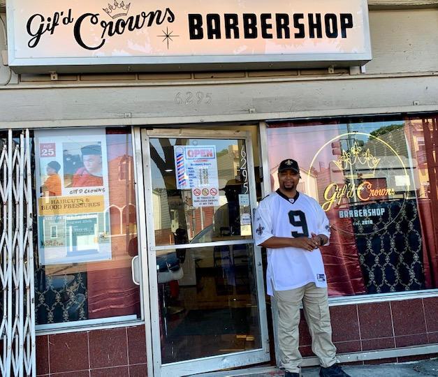 Gif'd Crowns Barbershop