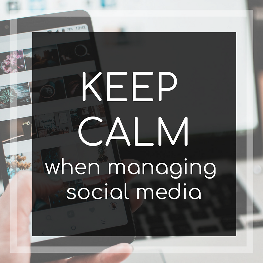 Keeping Your Cool When Managing Social Media