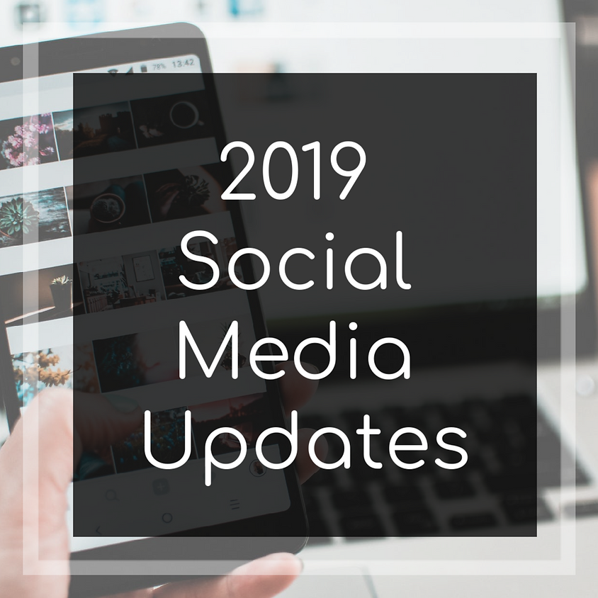 Things you might've missed: 2019 Social Media News
