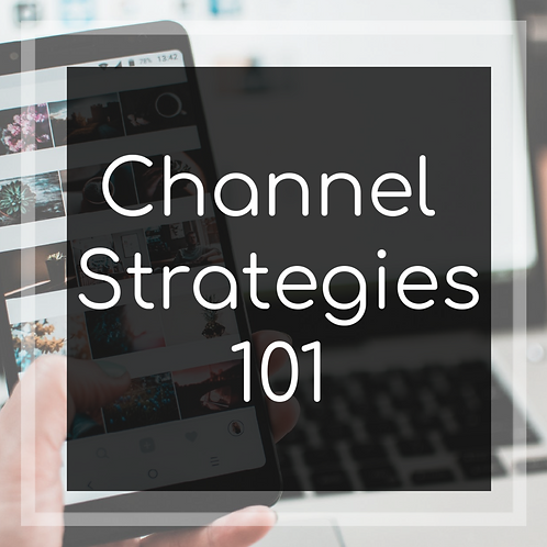 Social Media Channel Strategy Worksheets