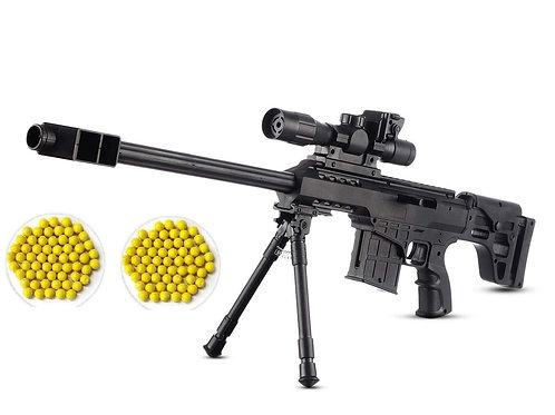 IndusBay® 24 Inches Sniper Gun Toy M 908 M4 BB Bullet Toy Gun - 63 cm Power Shot