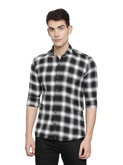 Carnot Men's Slim Fit Casual Shirt