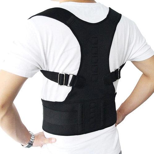 Posture Corrector Adjustable Magnetic Corset Back Brace Back Belt Lumbar Support