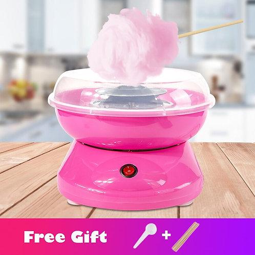 Electric DIY Sweet Cotton Candy Maker Portable Cotton Sugar Floss Machine Girl