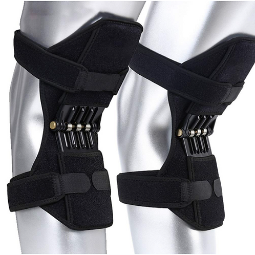 Knee Protection Booster Power Lifts Joint Support Pads Powerful Rebounds Spring