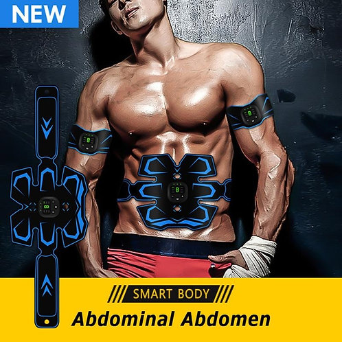 Wireless Abdominal Muscle Simulators Fitness Training Device Massage Exerciser