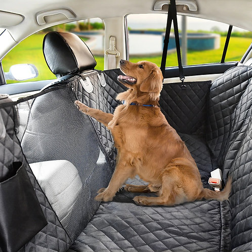 Waterproof Dog Car Seat Covers View Mesh Kids and Pet Cat Dog Carrier Backpack M