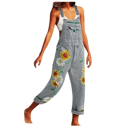 Sagace Sexy Denim Overalls Women Washed Fashion Denim Bib Pants Ladies Casual Je
